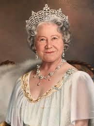 Mara McGregor - Queen Elizabeth The Queen Mother Very Large ...