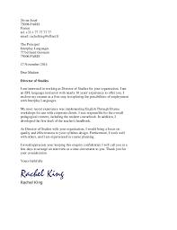 Esl Teacher Resume Cover Letter cover letter sample sample cover Sample  Cover Letter For English Teacher packaging clerks