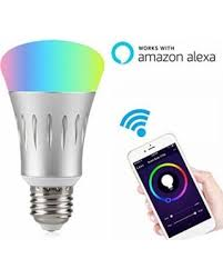 wifi smart led light bulb works with alexa no hub required linkstyle e27 control lighting ipad18 with