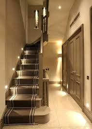 Under stairs lighting Staircase Design High Domproektinfo Interior Stairwell Lighting Contemporary Staircase With Under Stair