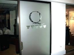 office glass door design. Office Door Design With Glass Front Side Window Privacy Film Home Ideas .