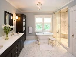 traditional bathroom lighting ideas white free standin. free standing tub fully enclosed shower dark cabinets clawson architects projects traditional bathroom new york llc lighting ideas white standin s