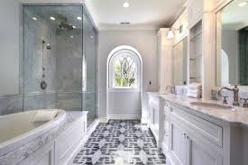 Mosaic Bathroom Floor Tile Black And White Mosaic Bathroom Floor Tiles Design Ideas