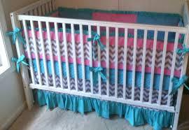 popular chevron crib bedding