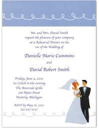 Invitation Wording For Dinner Wedding Rehearsal Dinner Invitations Wording Etiquette