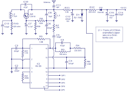 channel radio remote control circuit based of tx b rx b pair 5 channel radio remote decoder