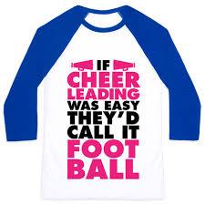 Cheerleading Quotes Inspiration Cheerleading Quotes Baseball Tees LookHUMAN