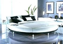 Stunning Round Bed Frame And Mattress No Box Spring Set Full Size ...