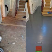 original pine floorboards painting
