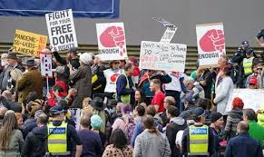 Interstate travellers are required to follow the department of health and. Protests Have Been Criminalised Under Covid What Is Incitement How Is It Being Used In The Pandemic