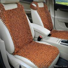 car natural wooden beads seat cushion massage cool premium comfort cushion reduces fatigue the car or truck or office seat head cushion for car seats heated