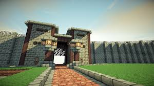 minecraft gate. Arrow Right Minecraft Gate M