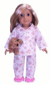 American Girl Clothes Patterns Beauteous American Girl Winter Pyjamas