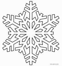 Small Picture Printable Snowflake Coloring Pages Printable Snowflake Coloring