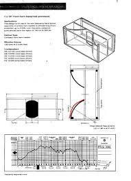 Bass Reflex Cabinet Design Fane Eminence 12in Mid Flared Horn Speaker Box Design