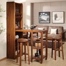 Home mini bar furniture Bar Table Lushome Designer Home Bar Sets Modern Bar Furniture For Small Spaces