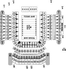 Kyle Field Seating Chart Tiger Stadium Stadium Seating Chart