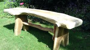 rustic garden furniture. Decoration: Rustic Garden Bench View Larger Furniture Wales R