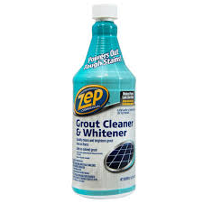 Kitchen Floor Grout Cleaner Zep 32 Fl Oz Grout Cleaner And Whitener Zu104632 The Home Depot