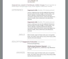 Resume Templates Modern Custom Modern Resume Example Downloadable Free Resume Template Modern