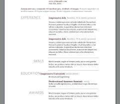 Resume Templates Modern Custom Modern Resume Example Downloadable Free Resume Template Modern