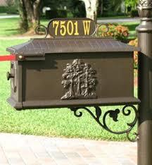 Decorative Mail Boxes Decorative Mailbox Custom Mailbox OnSight Signs 15