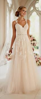 wedding dresses with straps naf dresses