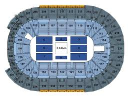 center seating chart