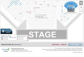 Susquehanna Bank Center Seating Chart Virtual Arena Seat View Chart Images Online