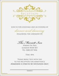 Invitation Wording For Dinner Wedding Reception Invitation Wording Samples From Parents