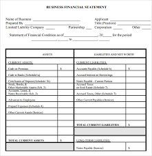 Free 11 Financial Statement Samples In Google Docs Ms