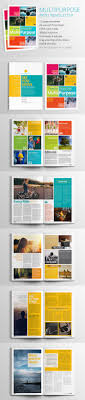 Magazine Newsletter Design Pin By Wendy Paint The World On Layouts Newsletter Design