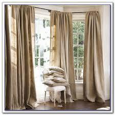 burlap curtain panels 108