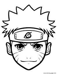 Small Picture Naruto printable coloring pages