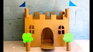 Castle Designs For School Projects How To Make Your Own Cardboard Play Castle
