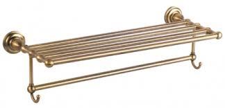 <b>Полка для полотенец с</b> крючками Fixsen Retro FX-83815A - в ...