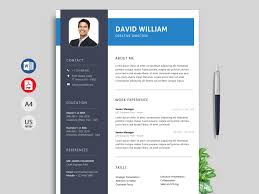 Resume Modern Format Rush Modern Resume Template Ms Word Format Resumekraft