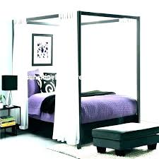 Wooden Canopy Beds King Size Wood Bed Queen Frames Frame Modern ...