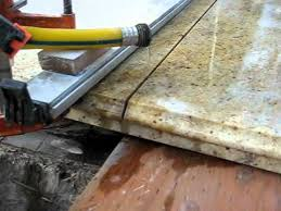 diy granite slab cutting for the first time short version