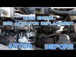 Freightliner Cascadia DD15 DD16 engine <b>EGR valve actuator</b> ...