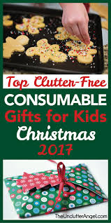 fun and creative alternatives to gift giving this avoid the gift piling and clutter and find the perfect consumable gift for the kids