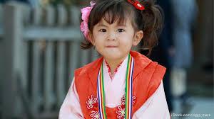 3歳の女の子の七五三はいつ写真や衣装の準備と髪飾りを使った女の子の