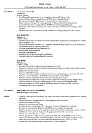 Rad Tech Resume Samples Velvet Jobs X Ray Tech Resume Template