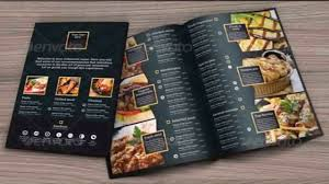 Restaurant Menu Design Templates Restaurant Menu Design Templates Photoshop Youtube