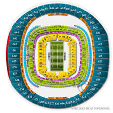 Mercedes Benz Superdome Seating Chart With Rows New Orleans Bowl Tickets 2019 Game Prices Buy At Ticketcity