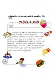 learning english paragraph writing junk food short essay on junk food in english