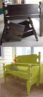 furniture upcycle ideas. For My Yard...turn A Bed Headboard Into Bench...awesome Upcycle Ideas! Furniture Ideas R