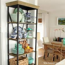 Shelf For Kitchen Using An Etagere Shelf For Kitchen Storage Display The Happy