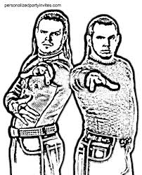 Jeff And Matt Hardy Coloring Pages Murderthestout