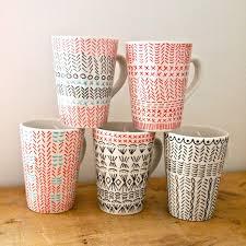 hand painted coffee mug image